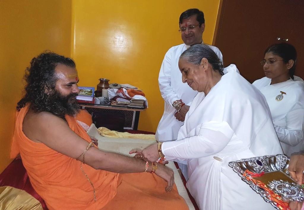 Photo 1 ) - Varanasi - Shankaracharya Kashi Sumeru peethadhishwar Swami Narendranand Sarswati Ji Maharaj (9)